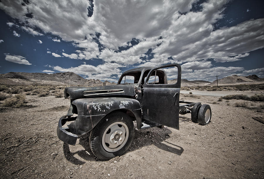 Truck Photograph - Abandoned  by Merrick Imagery