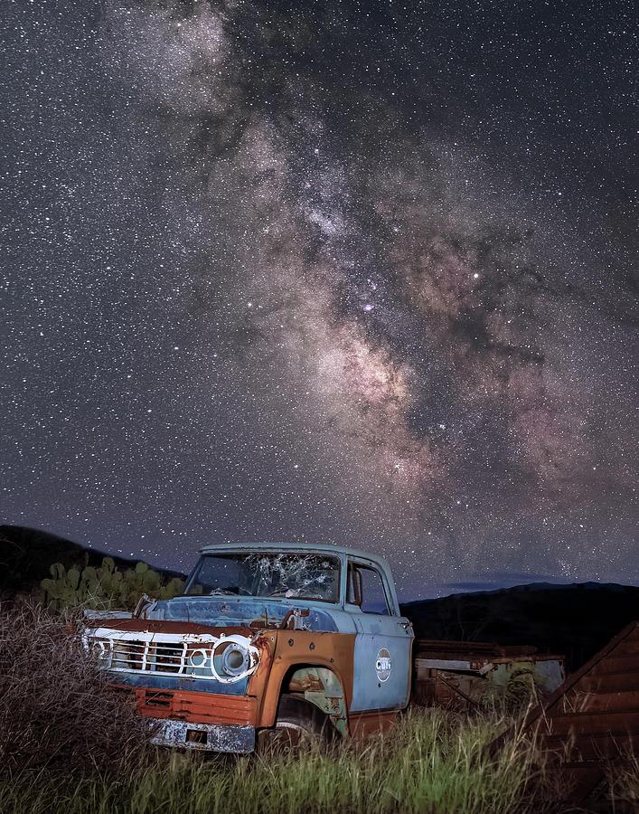 Abandoned Truck in Terlingua by Hal Mitzenmacher
