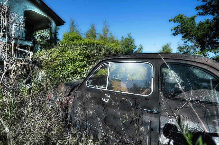 Abandoned Vehicles Photograph - Abandoned Vehicles - Veicoli Abbandonati  2 by Enrico Pelos