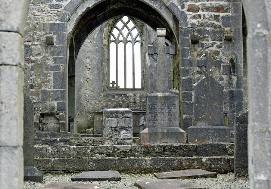 Abbey Door Photograph