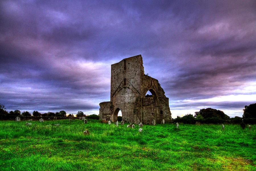 Landscape Photograph - Abbeylara Abbey by Kim Shatwell-Irishphotographer