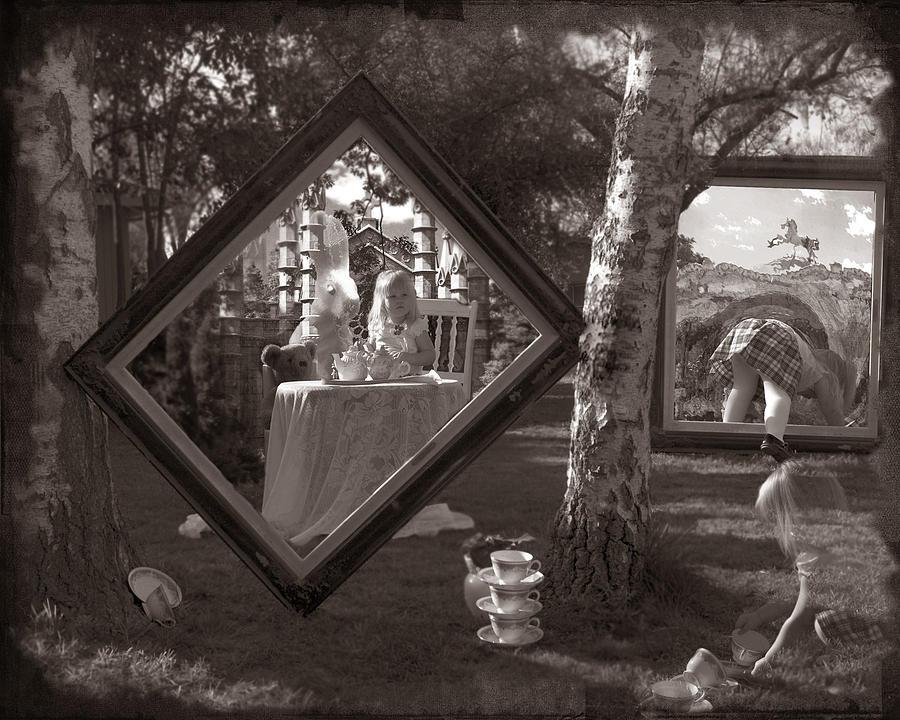 Photo Photograph - Abby In Wonderland by Brigid Nelson