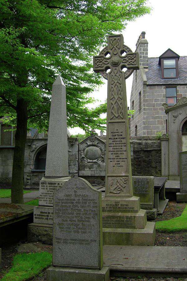 Aberdeen Photograph - Aberdeen Grave Markers by Deborah Smolinske
