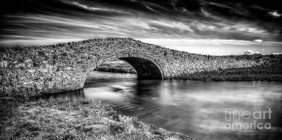 Anglesey Photograph - Aberffraw Bridge V2 by Adrian Evans