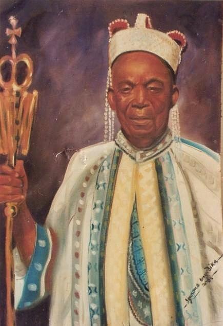Paintings Painting - Abgalaka  by Eziagulu Chukwunonso