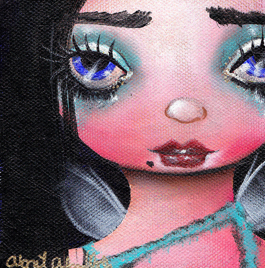 Fairy Painting - Abi  by  Abril Andrade Griffith