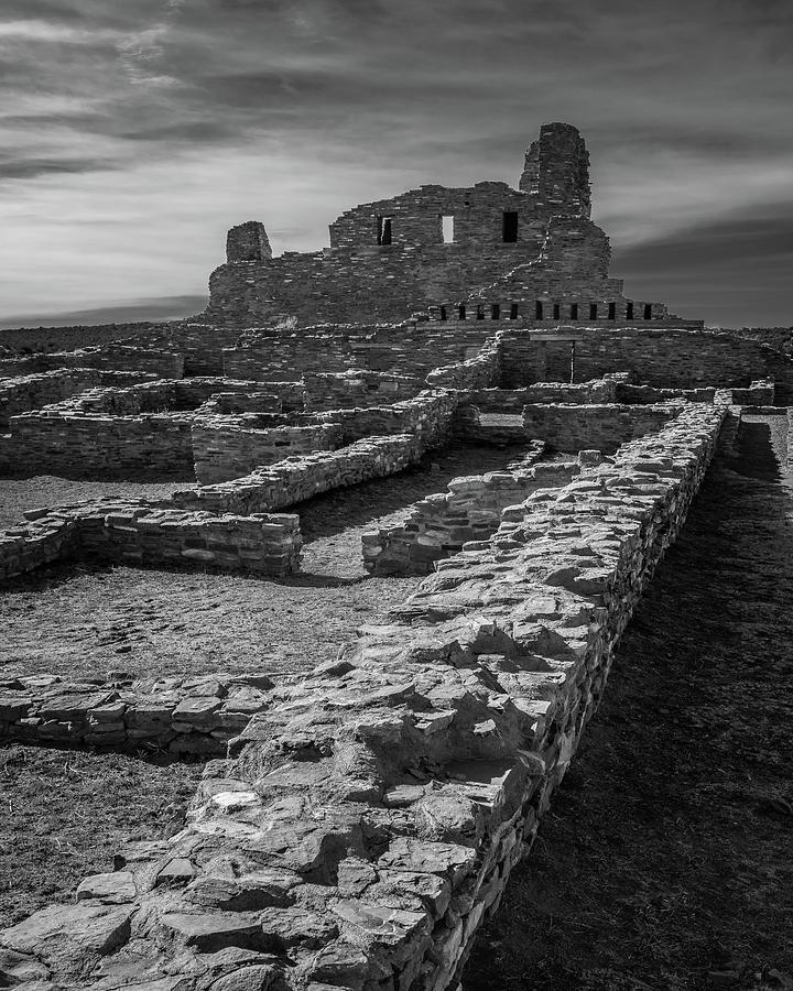New Mexico Photograph - Abo Ruins by Joseph Smith