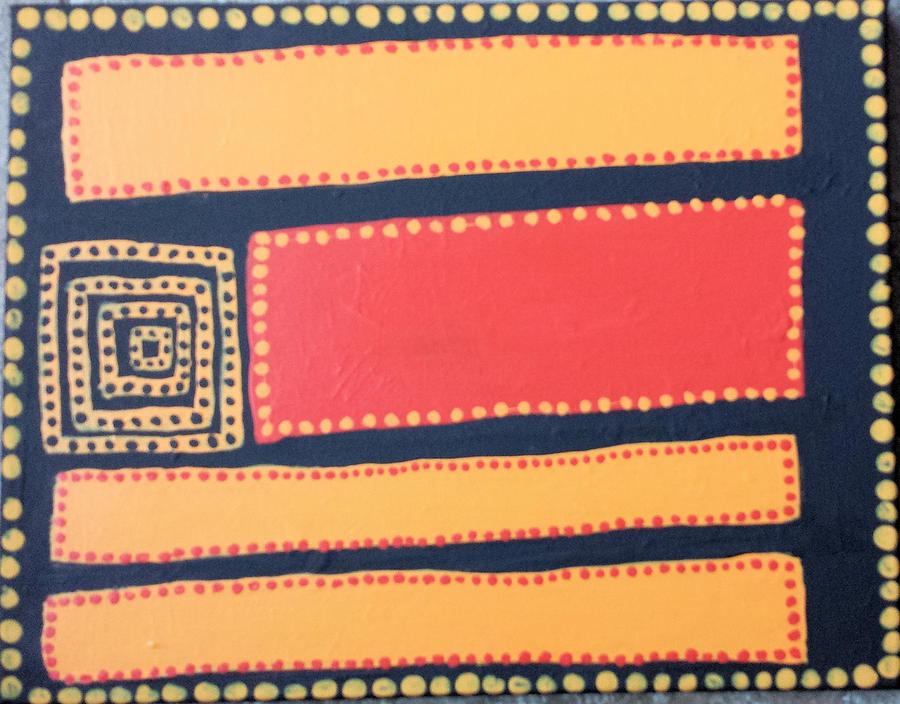 Aboriginal #1 by Elise Boam