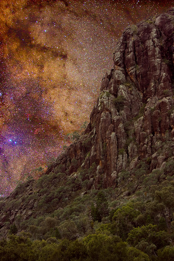 Milky Way Photograph - Aboriginal Dreamtime by Charles Warren