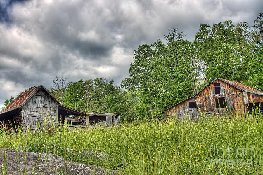 Virginia Photograph - About To Storm by Pete Hellmann