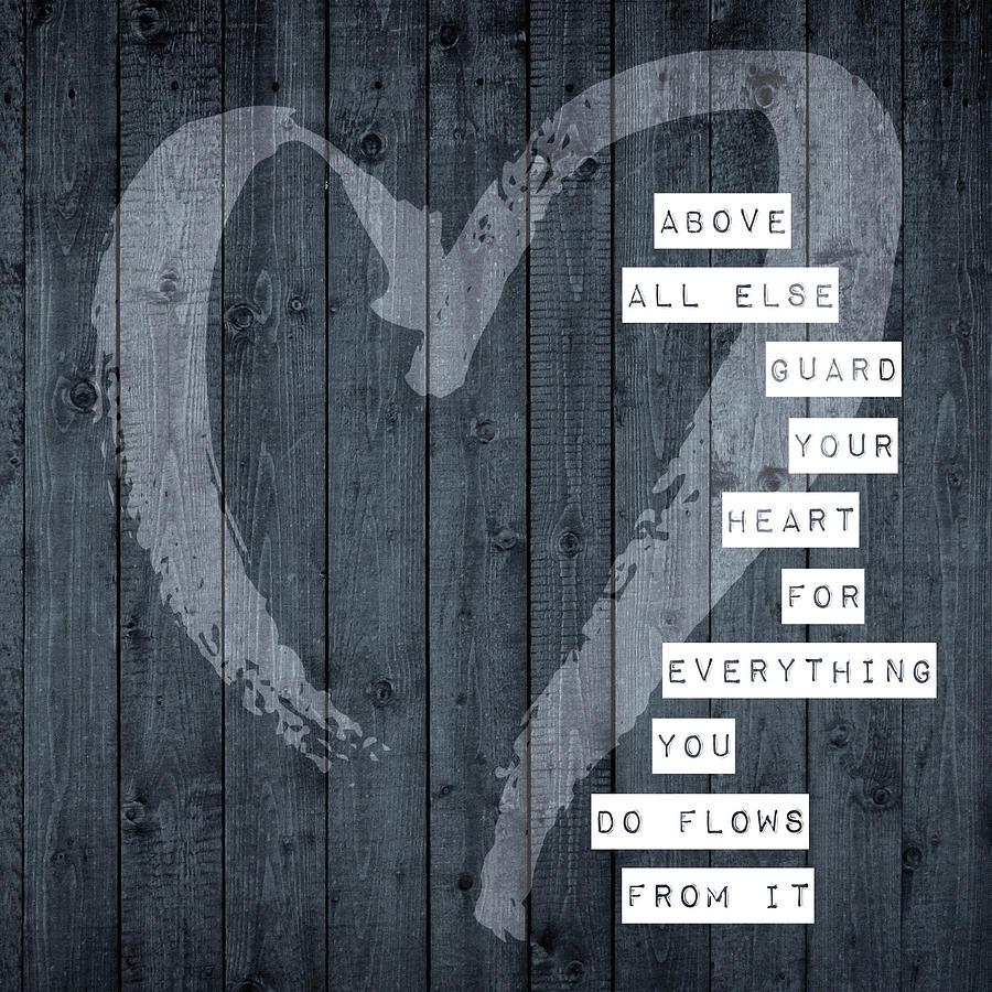 Love Digital Art - Above All Else by Brandi Fitzgerald