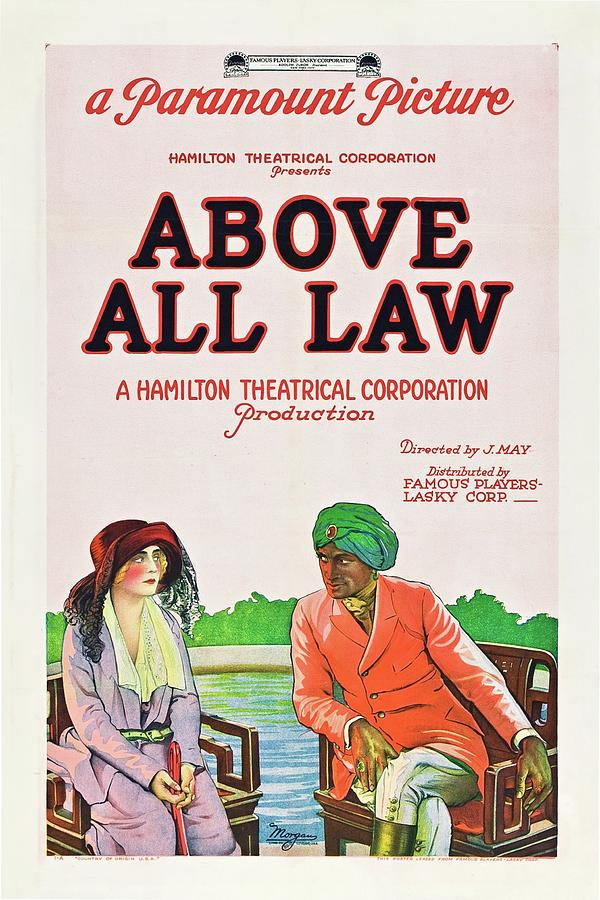 Paramount Painting - Above All Law by Paramount