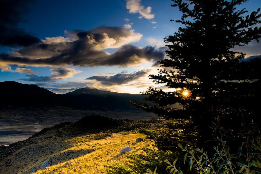 Montana Photograph - Above Gardiner Montana by Patrick  Flynn