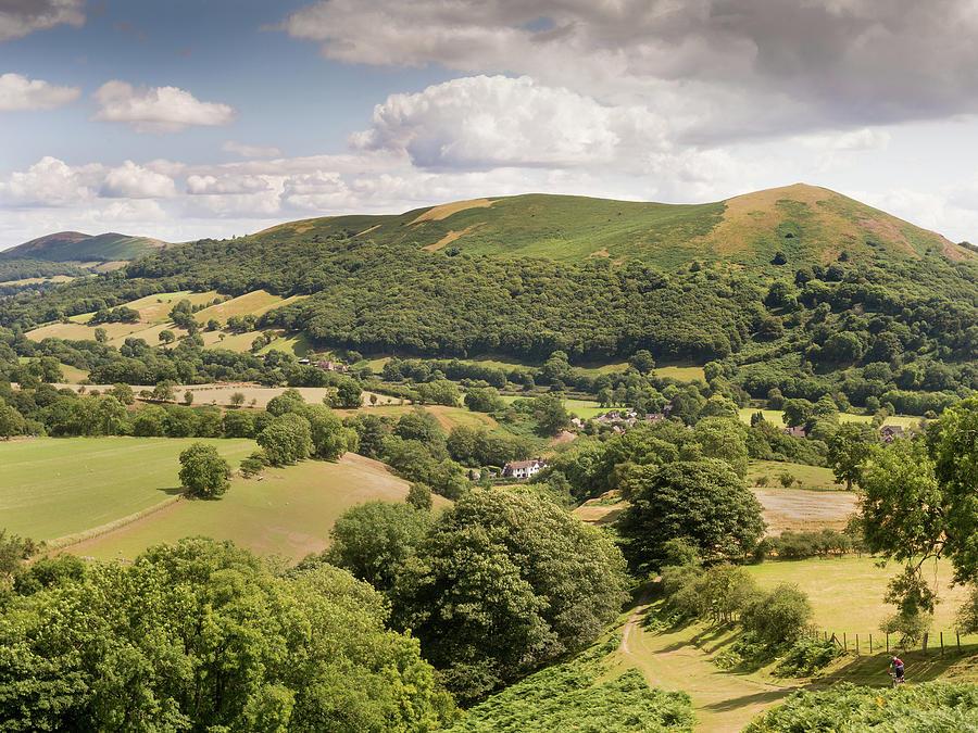 Long Mynd Photograph - Above Little Stretton by Richard Greswell