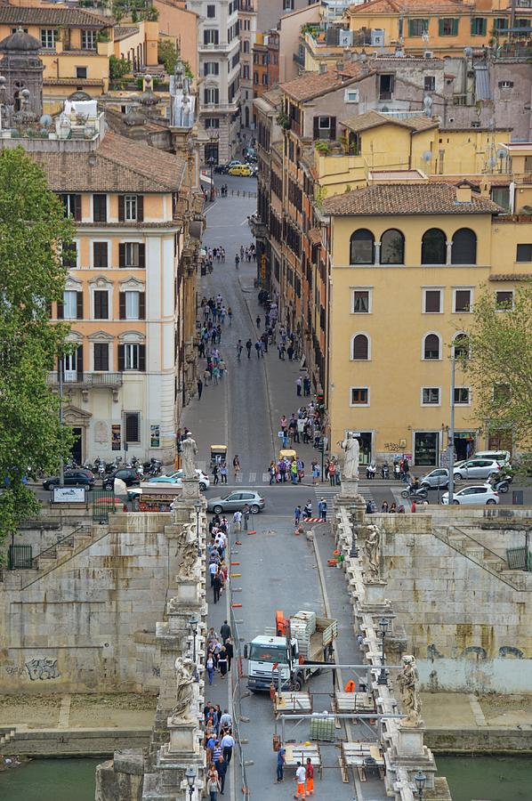 Italy Photograph - Above Ponte Santangelo by JAMART Photography
