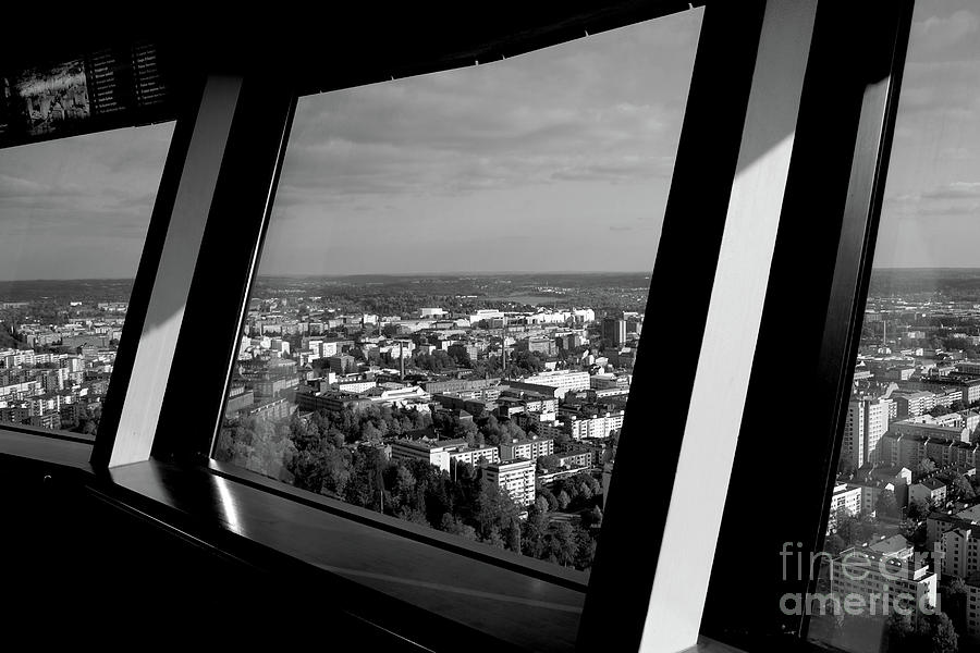 Cityscape Photograph - Above by Tapio Koivula