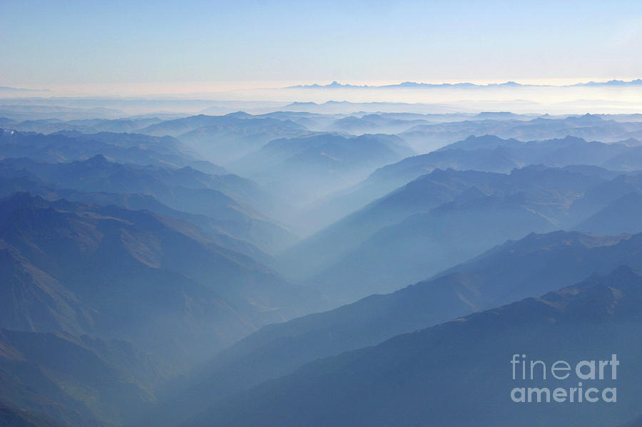 Andes Photograph - Above The Andes by Matt Tilghman