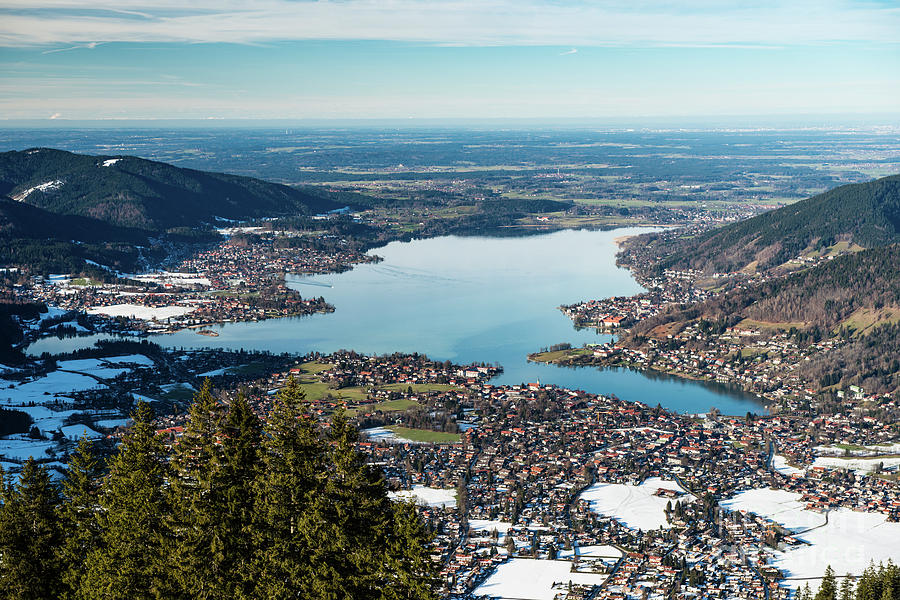 Above the Tegernsee by Hannes Cmarits
