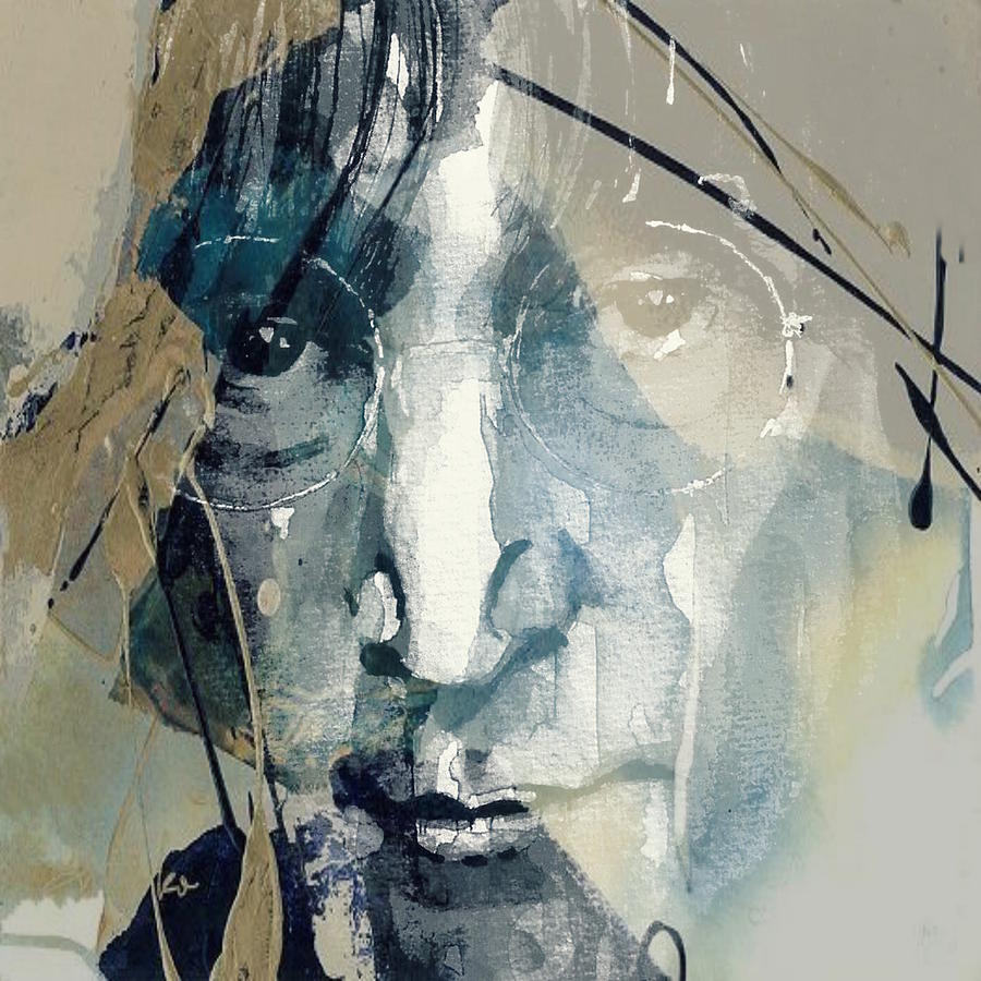 John Lennon Mixed Media - Above Us Only Sky  by Paul Lovering