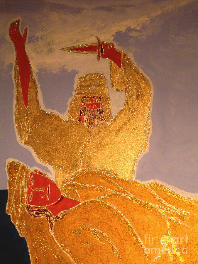 Abraham And Isaac Painting - Abraham And Isaac by Daniel Henning