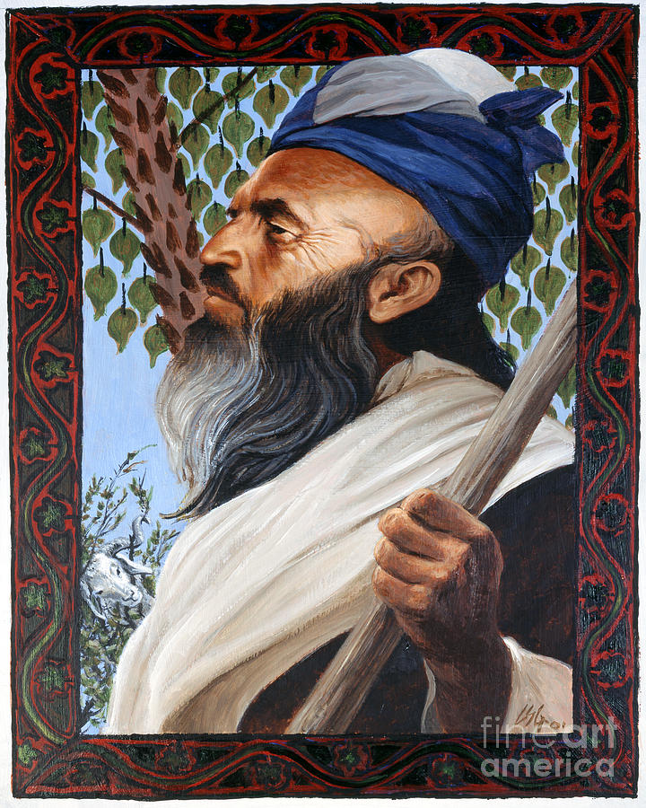Abraham - LGABR by Louis Glanzman