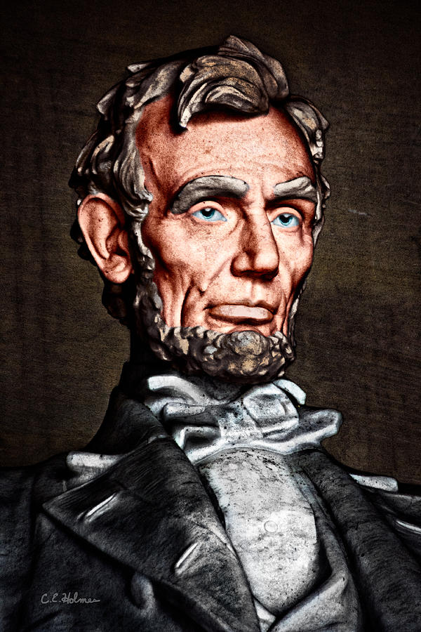 Abraham Lincoln Photograph - Abraham Lincoln by Christopher Holmes