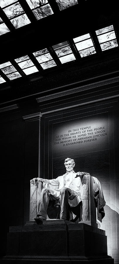 Abraham Lincoln Seated Photograph