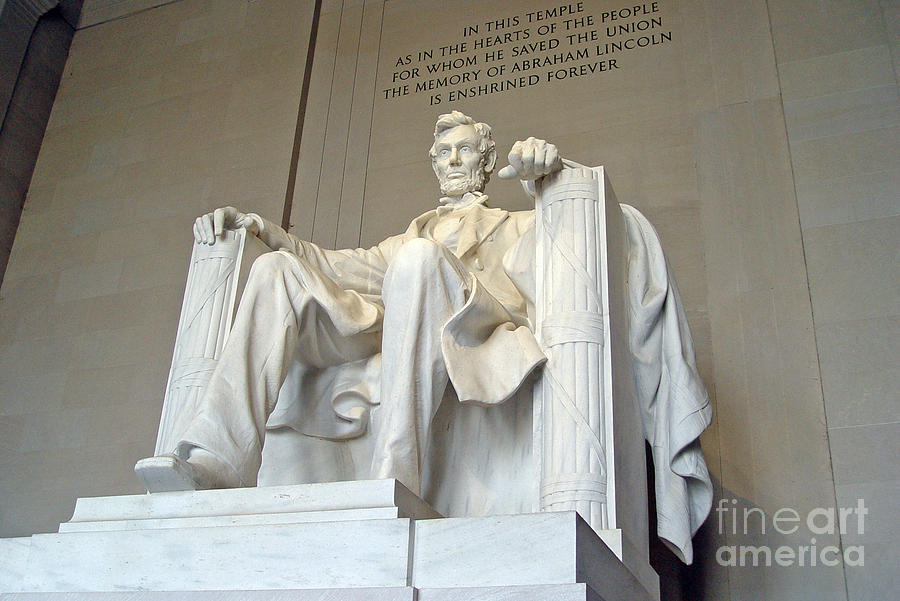 Abraham Lincoln Statue - 1 by Tom Doud