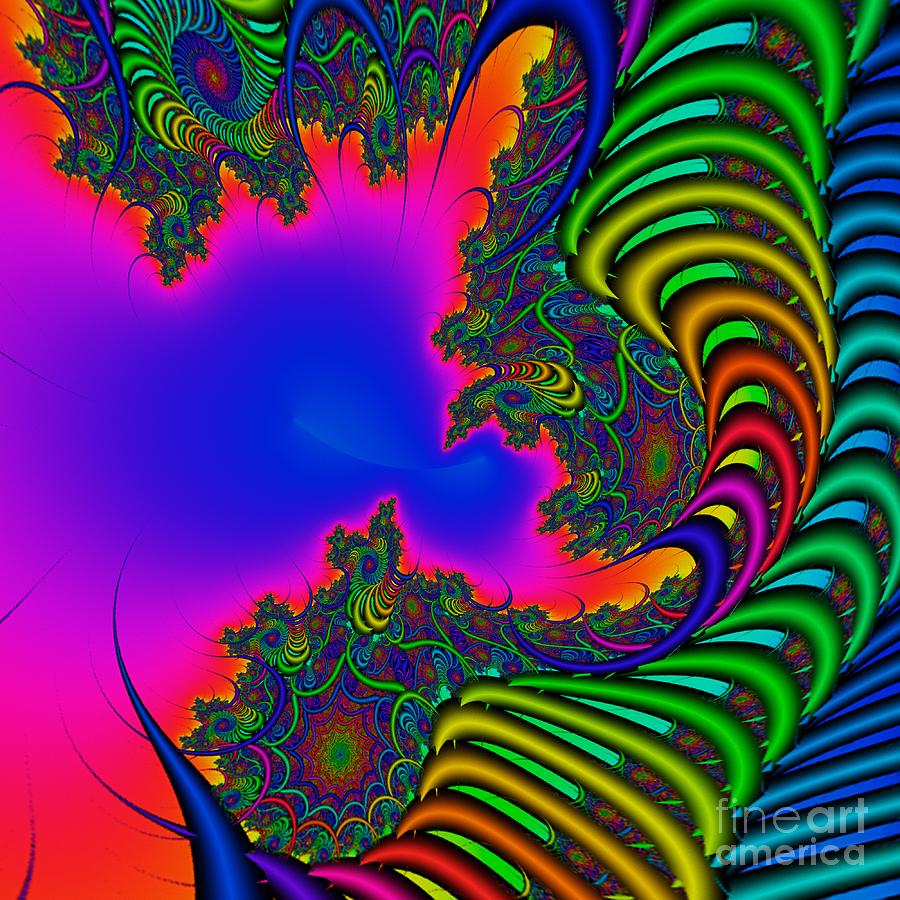 Abstract Digital Art - Abstact 04 A by Rolf Bertram