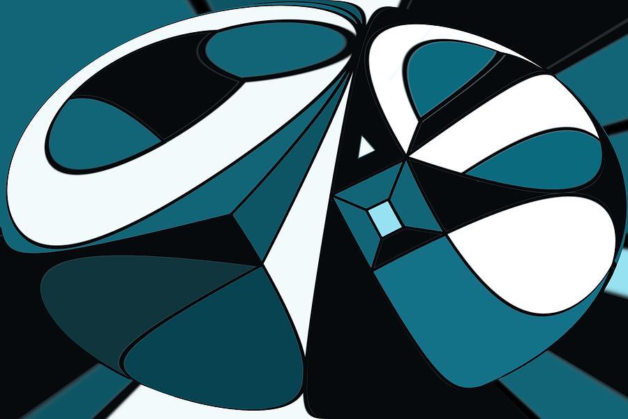 Abstract Digital Art - Abstrac7-30-09-a by David Lane