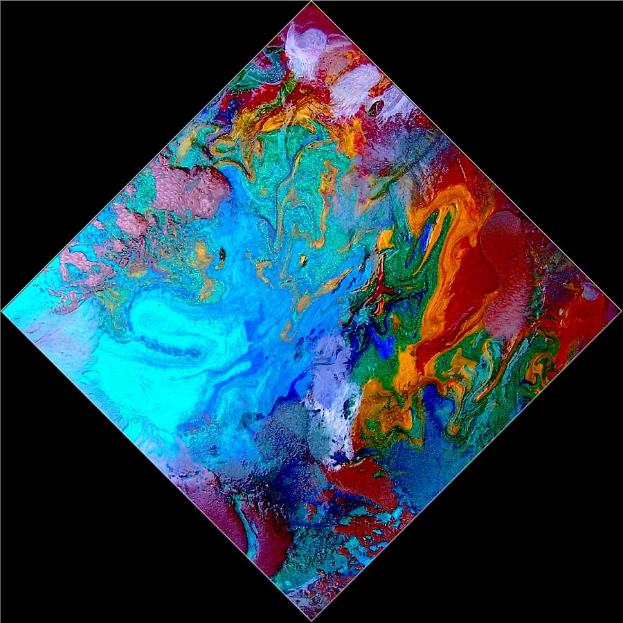 Abstract Painting - Abstract - Evolution Series 1012 by Dina Sierra
