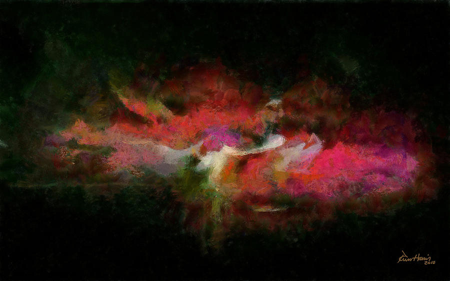 Abstract Painting - Abstract - Springtime by Russ Harris