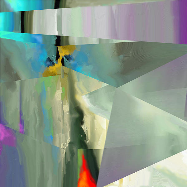 Abstract 029 Painting by MJ Alhabeeb