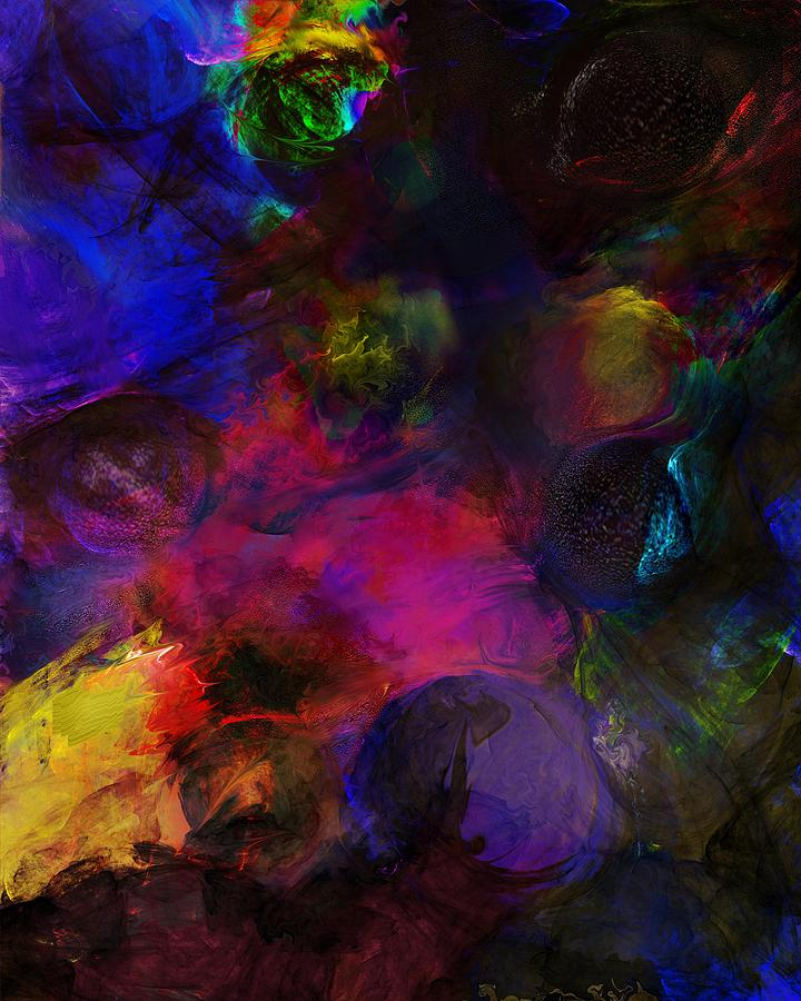 Abstracts Digital Art - Abstract 042711a by David Lane