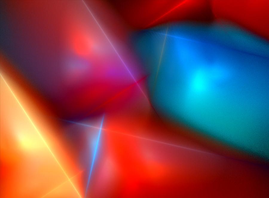 Digital Painting Digital Art - Abstract 060110 by David Lane