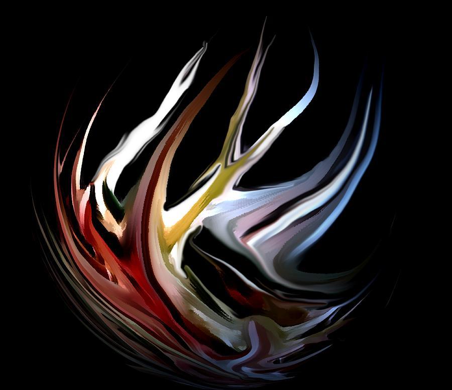 Abstract Digital Art - Abstract 07-26-09-c by David Lane