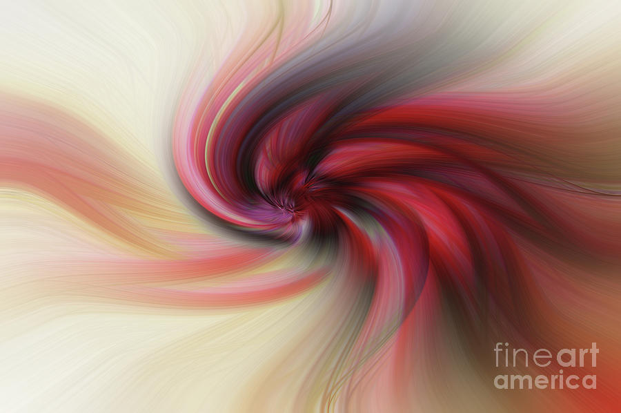Love Photograph - Abstract 0902 K by Howard Roberts