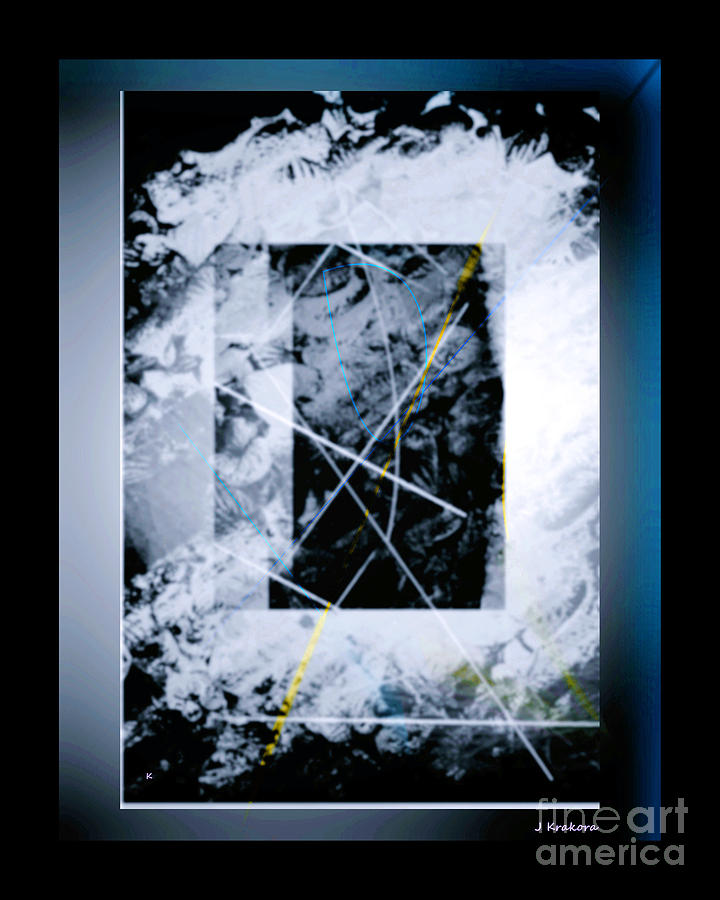 Abstract Digital Art - Abstract 1001-2016 by John Krakora