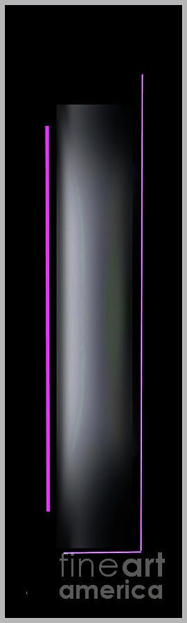 Abstract Digital Art - Abstract 1050-2016 by John Krakora