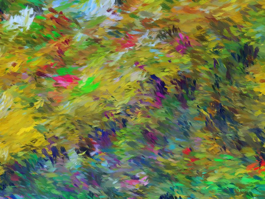 Abstract Digital Art - Abstract 111510 by David Lane
