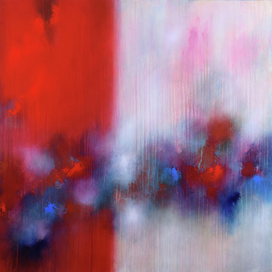 Abstract Painting - Abstract Painting 137 by Bernd Weckenmann