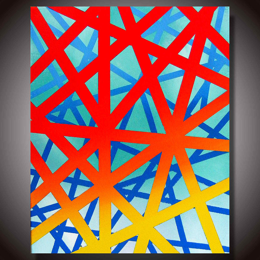 Abstract Painting - Abstract 1a by Gregory Morss