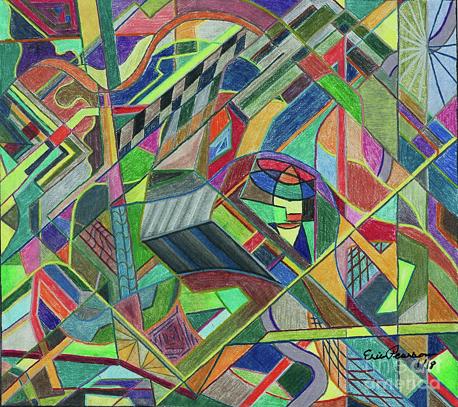 Abstract 2 by Eric Pearson