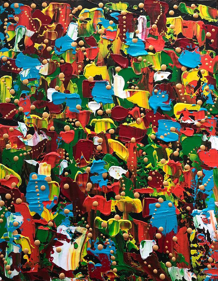 Abstract 2018-03 Painting by Riky Van Deursen