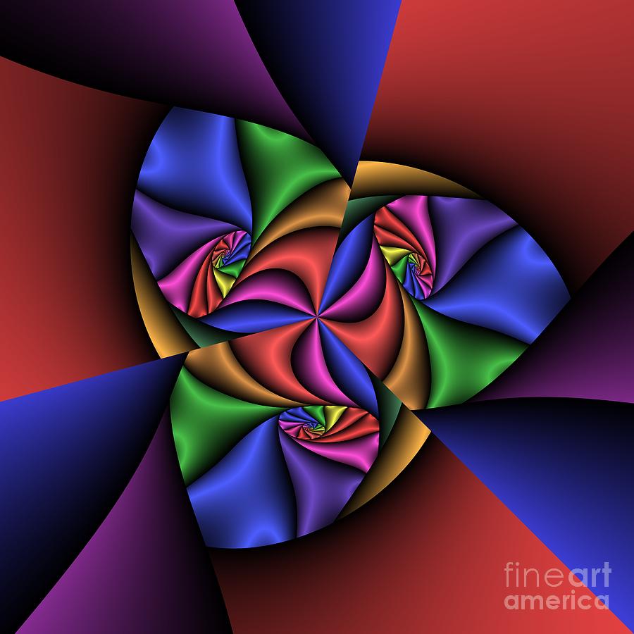 Abstract Digital Art - Abstract 222a by Rolf Bertram