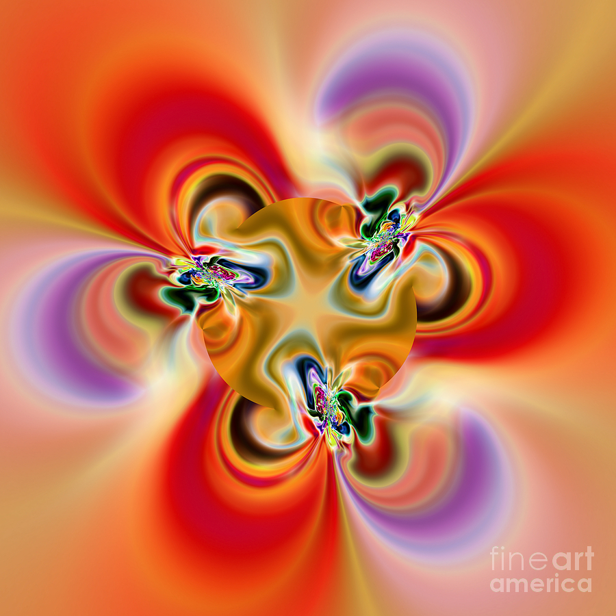Abstract Digital Art - Abstract 238 by Rolf Bertram