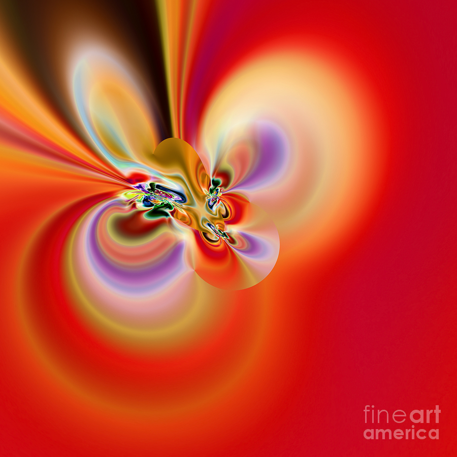 Abstract Digital Art - Abstract 239 by Rolf Bertram