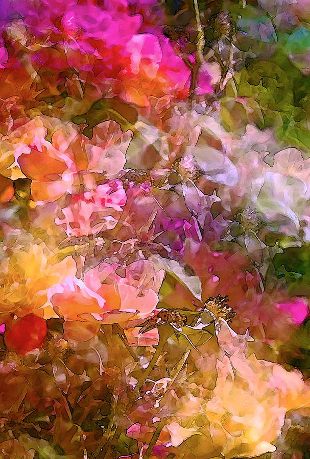 Abstract Photograph - Abstract 276 by Pamela Cooper