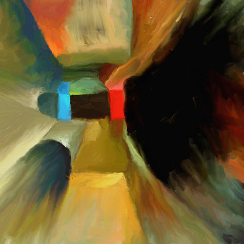Abstract 33 Painting by MJ Alhabeeb