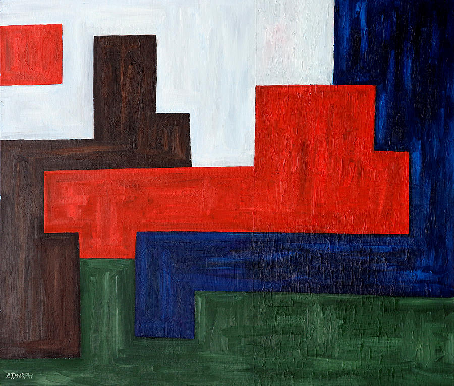 Abstract Painting - Abstract 343 by Patrick J Murphy